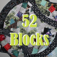 52 Blocks Quilt Along a block of the month by Kim Lapacek of  Persimon Dreams | from QuiltAlong.net