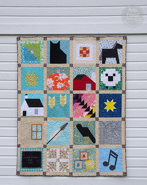 Little House on the Prairie Sew Along a quilt along by Amy Friend of During Quiet Time | from QuiltAlong.net