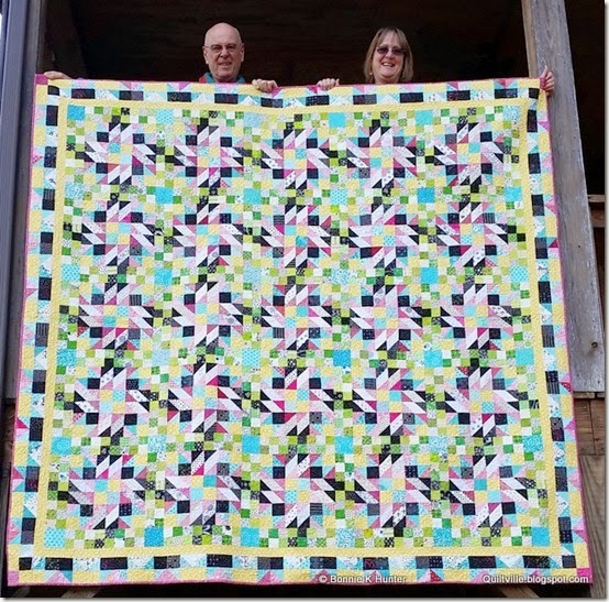 Grand Illusions Mystery Quilt a quilt along by Bonnie Hunter of Quiltville | from QuiltAlong.net