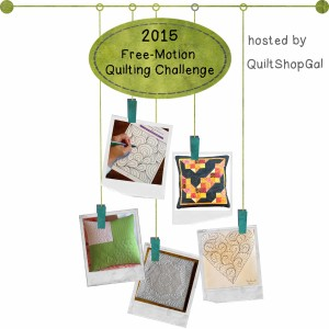 2015 Free-Motion Quilting Challenge a quilt along by Darlene of QuiltShopGal | from QuiltAlong.net