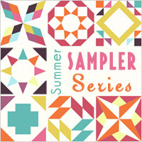 Summer Sampler Series a quilt along by Faith of Fresh Lemon Quilts | from QuiltAlong.net
