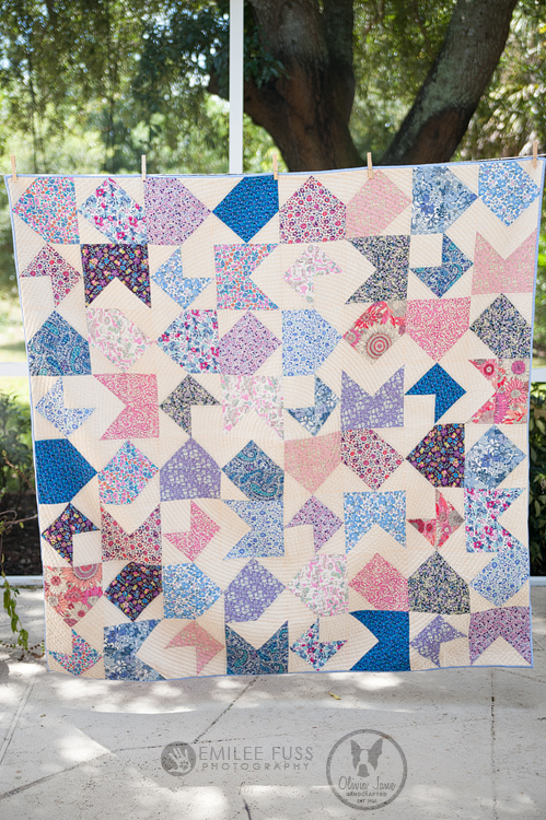 Opposites Attract Quilt-Along a quilt along by Meredeth of Olivia Jane Handcrafted | from QuiltAlong.net