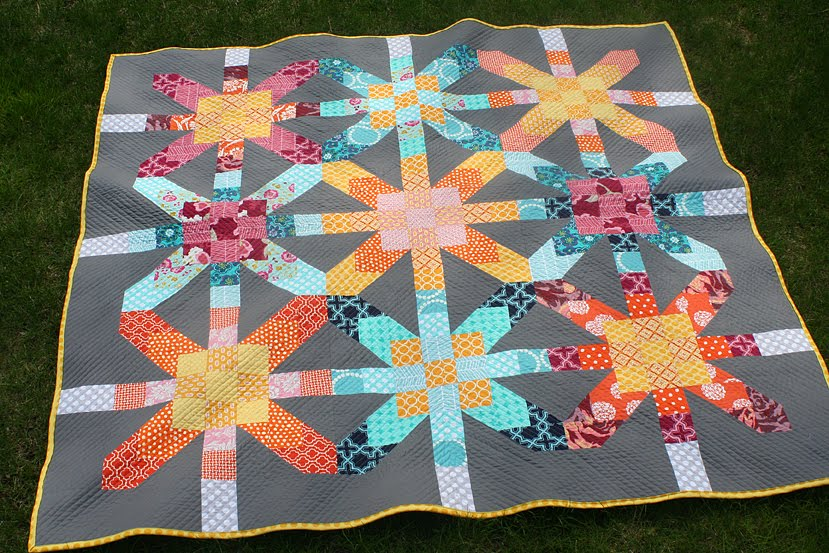 Supernova Quilt-Along a quilt along by Lee of Freshly Pieced | from QuiltAlong.net