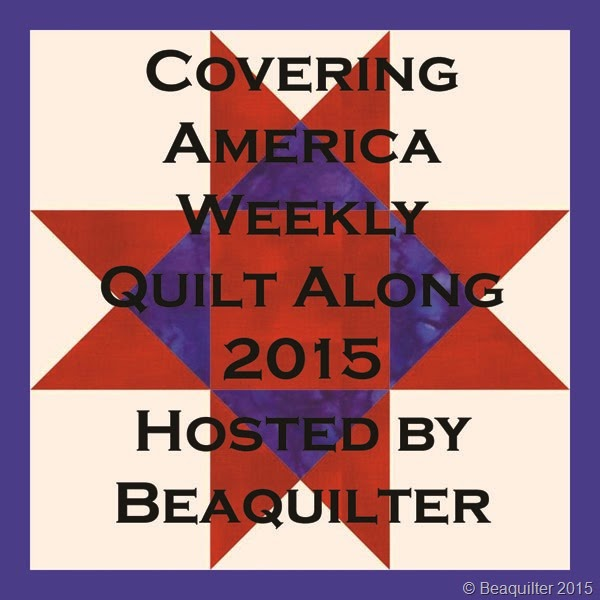 Covering America Weekly Quilt Along a quilt along by Bea Lee of Beaquilter | from QuiltAlong.net