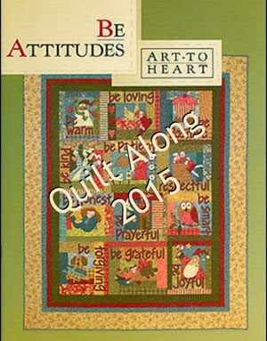 Be Attitudes Quilt Along by Art to Heart