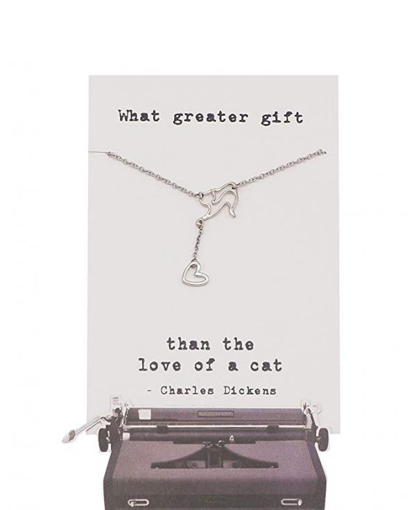 Quinnlyn - Cat - What - Greater - Gift - Pendant - Hanging - Cat