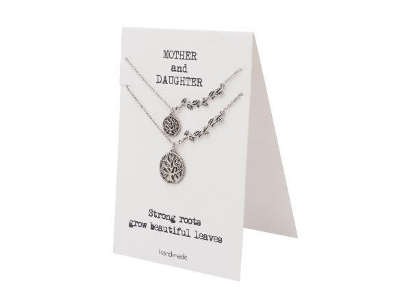 Quinnlyn - Strong - Roots - Pendant - Tree - Mother - Daughter - Inspirational - Card
