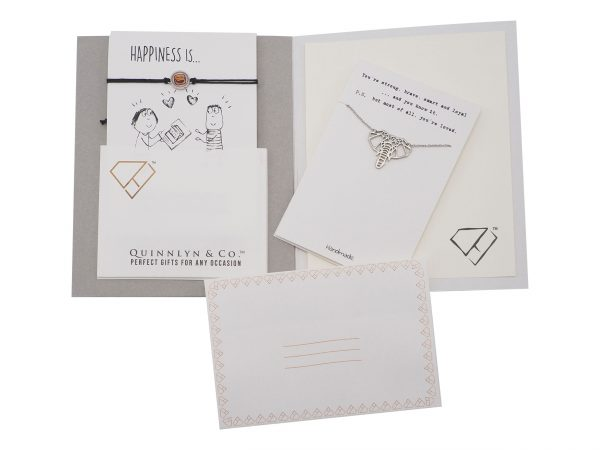 Quinnlyn - Elephant - Necklace - Pendant - Card