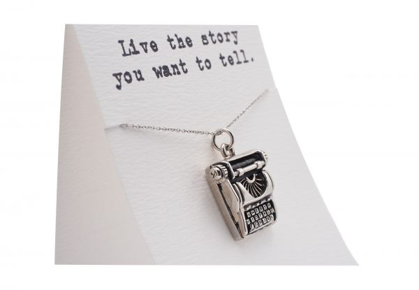 Quinnlyn - Typewriter - Necklace - Pendant