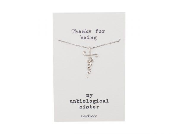 Unbiological - Sister - Necklace - Pendant 1