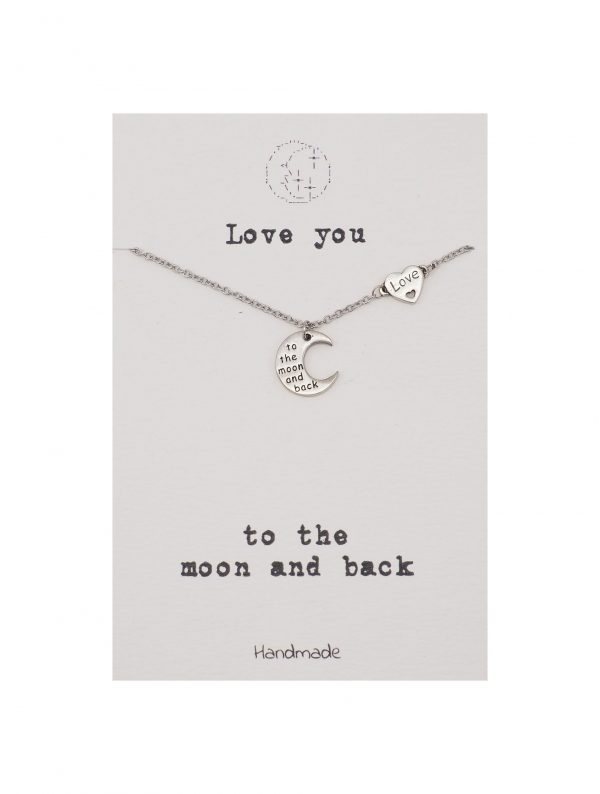 Love - You - To - The - Moon - And - Back - Necklace - Pendant