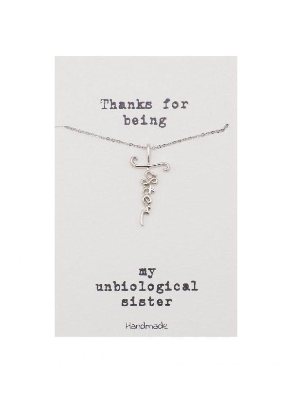 Unbiological - Sister - Necklace 6