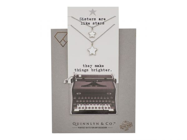 Quinnlyn - Sisters Stars Necklace