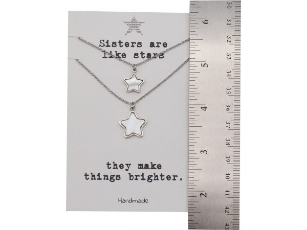 Quinnlyn - Sisters - Stars - Pendant - Necklace 1