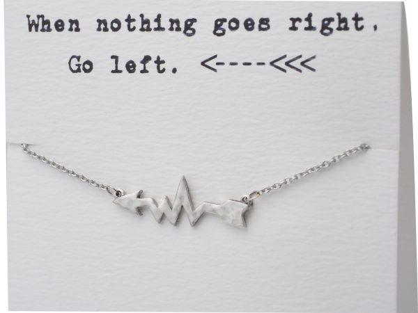 Quinnlyn - Left - Arrow - Necklace