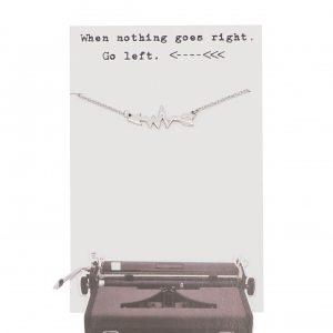 Quinnlyn - Left Arrow - Necklace - Pendant