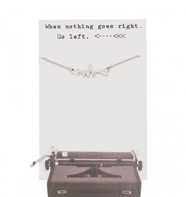 Left - Arrow - Necklace 1