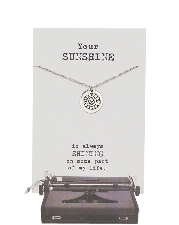 Quinnlyn - Your Sunshine - Necklace - Flower