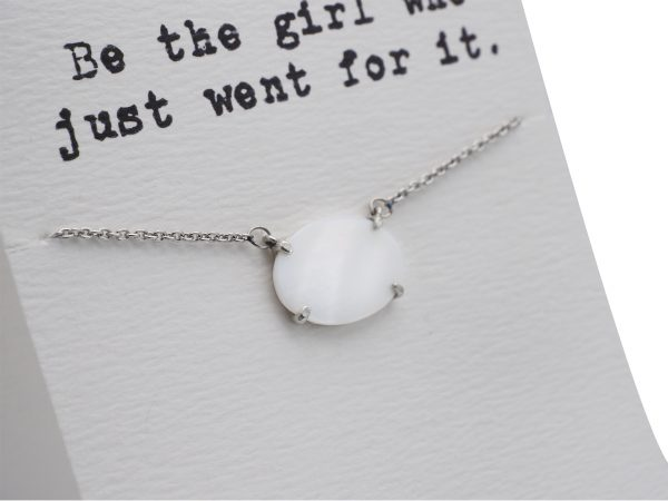 Quinnlyn - Be The Girl - Opal - Necklace - Pendant