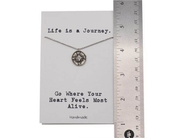 Quinnlyn - Compass - Necklace - Pendant