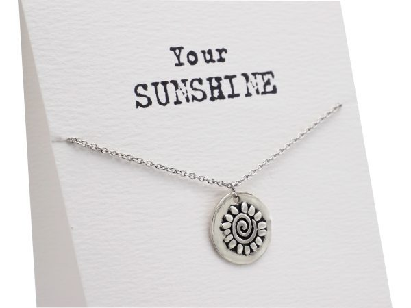 Quinnlyn - Your Sunshine - Necklace - Pendant