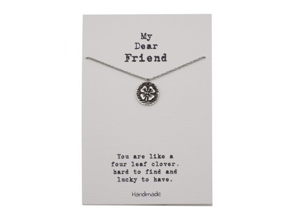 Four Leaf - Clover - Necklace - Pendant