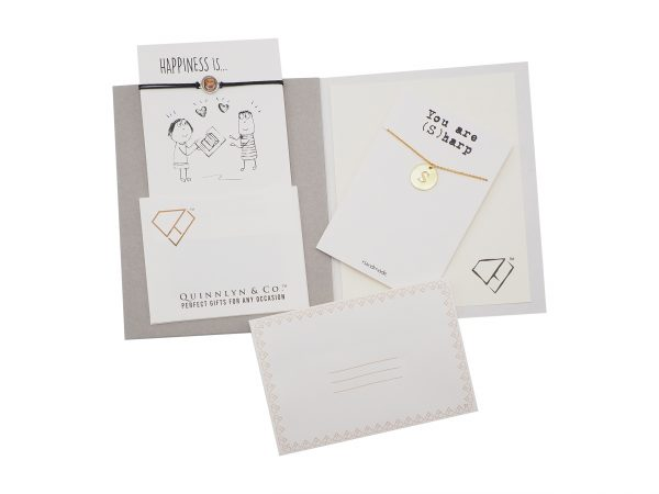 Quinnlyn - Initial S - Necklace - Pendant - Card