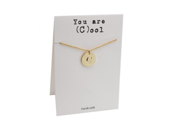 Quinnlyn - Initial C - Necklace - Pendant