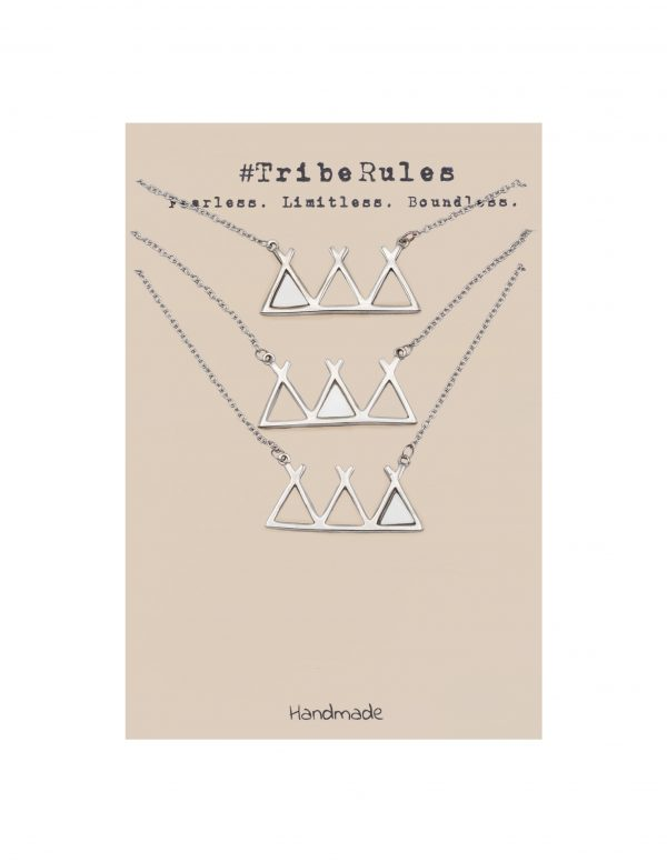 Quinnlyn - Tribe Rules - Necklace - Greeting Card