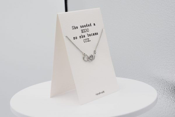 Quinnlyn - Hero - Necklace - Greeting Card