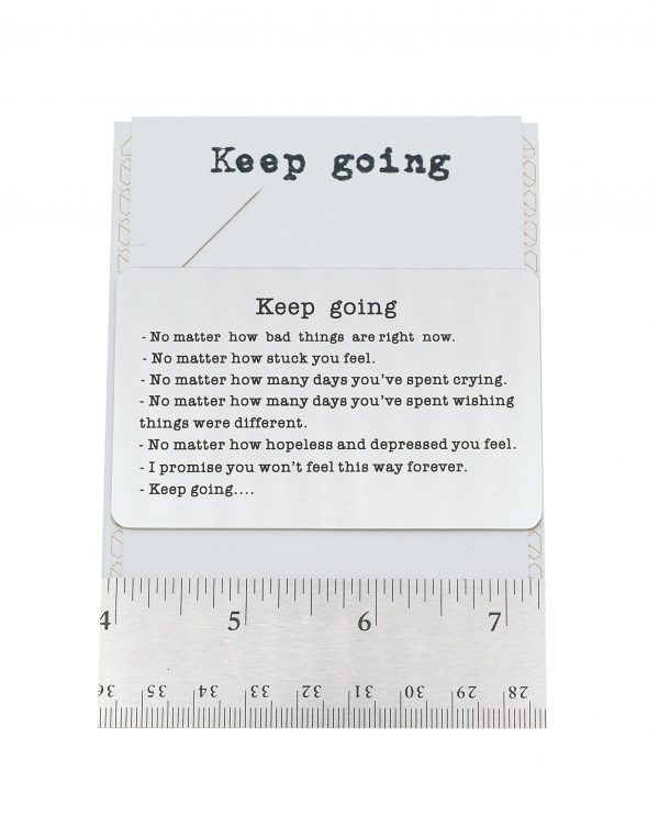 Keep Going Greeting Card 2 - Quinnlyn