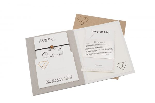 Keep Going Greeting Card 3 - Quinnlyn