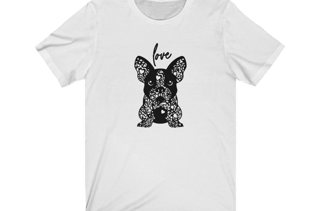 French Bulldog Love, Gifts for Dog Lovers, Dog Breeder T-shirt for Men and Women