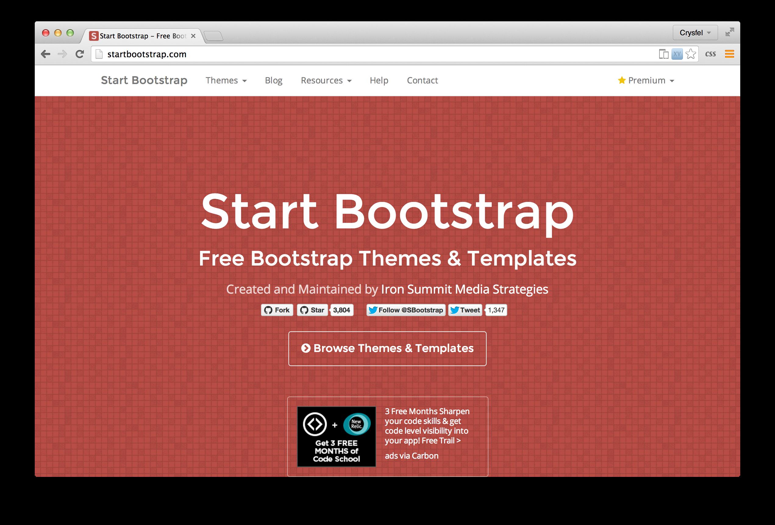 Temas para bootstrap