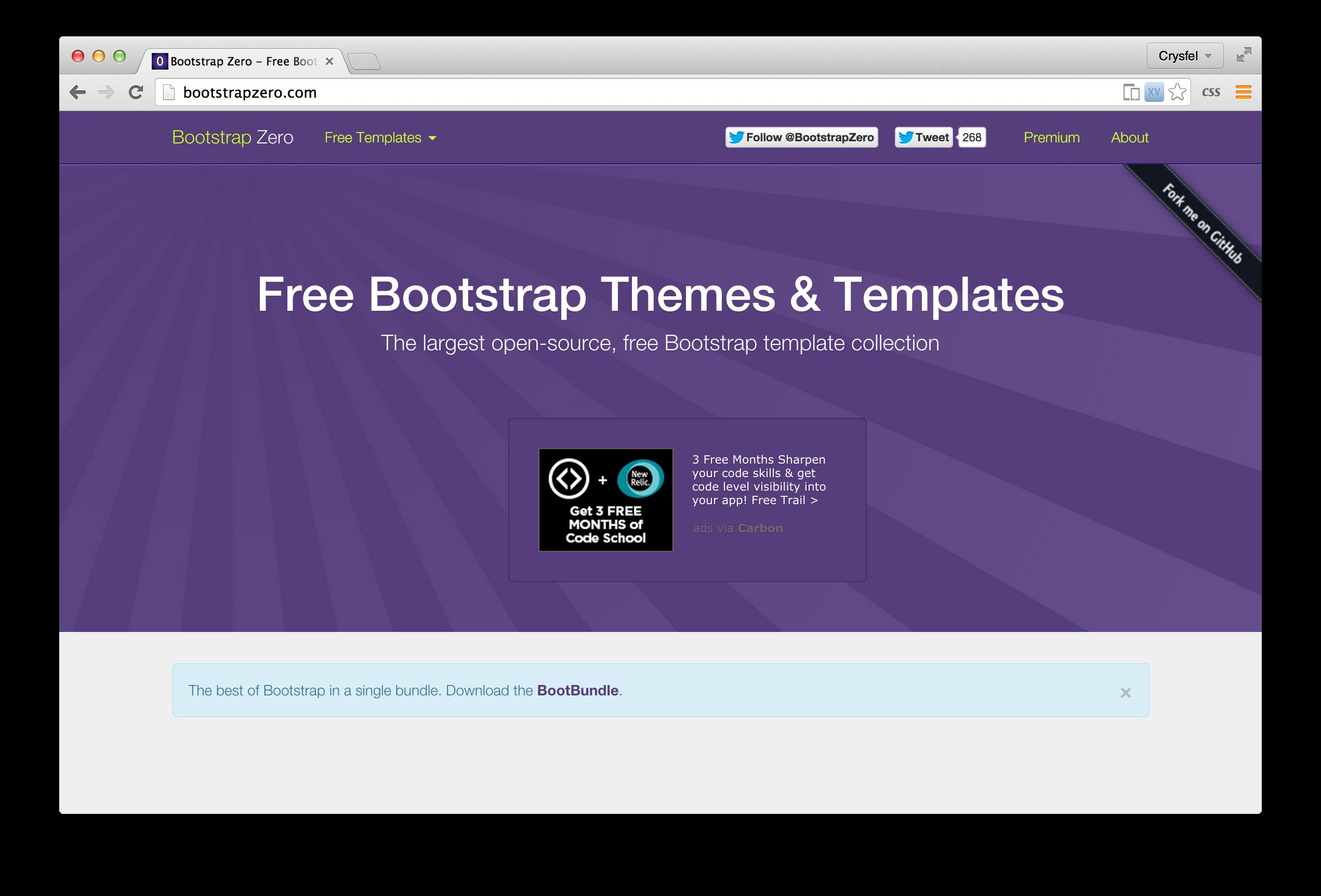 Bootstrap cero