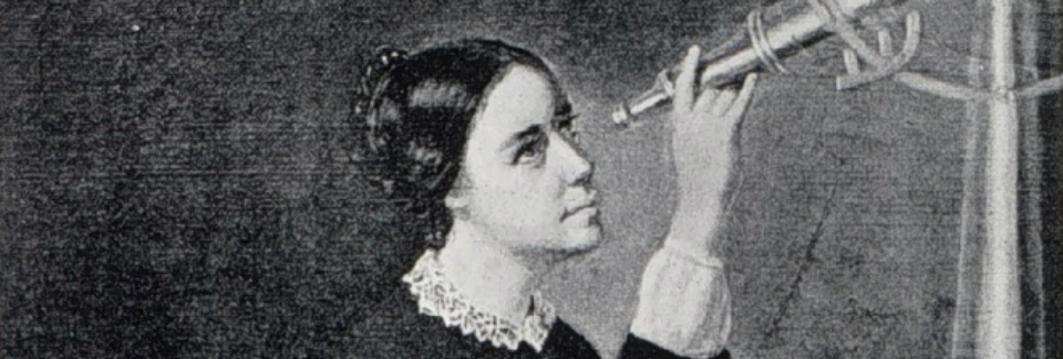 a biography of maria mitchell the one who discovered miss mitchells comet