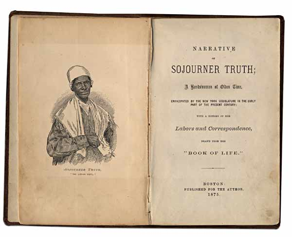 the life of sojourner truth A monumental biography of one of the most important black women of the nineteenth century sojourner truth first gained prominence at an 1851 akron, ohio, women's rights conference, saying, dat man over dar say dat woman needs to be helped into carriages, and lifted over ditches  .