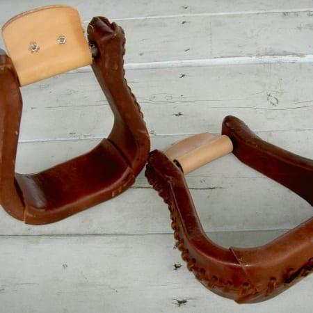 Steve Edwards Saddle Stirrups for Mules