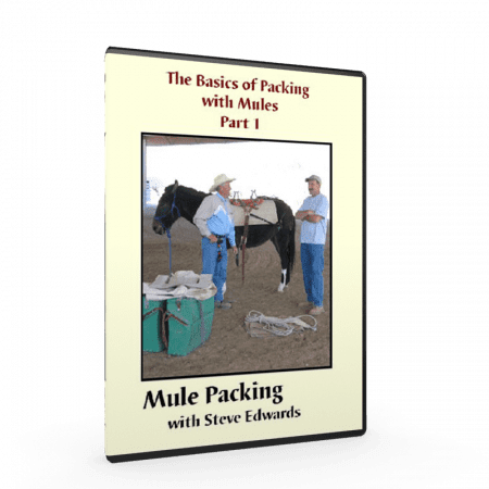 Mule Packing Training, Steve Edwards, Mule Trainer