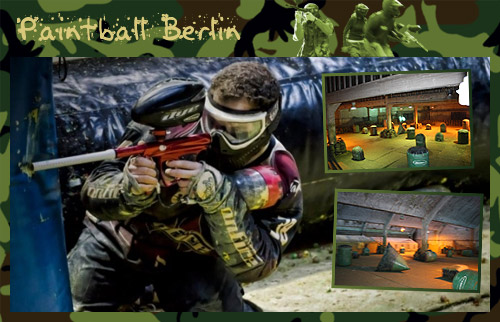 3 Stunden Paintball-Action mitten in Berlin
