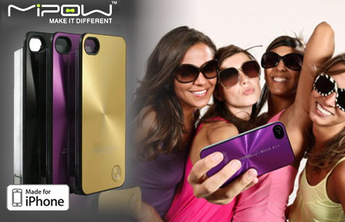 MiPow Maca Air 2200mAh Power Case f�r iPhone 4/ 4S