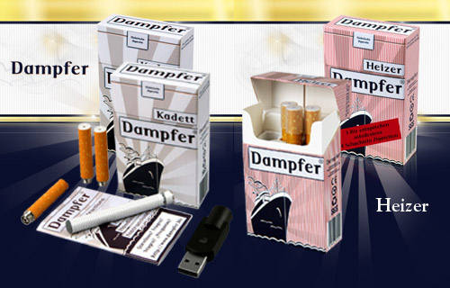 Dampfer Starter Kit Kadett + Dampfer Biz Heizer 3er Pack
