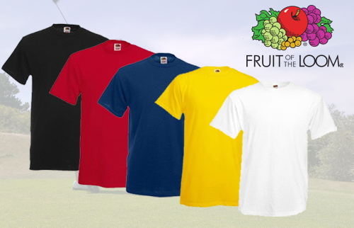 12er-Pack Fruit of the Loom T-Shirts f�r nur 22,22 Euro
