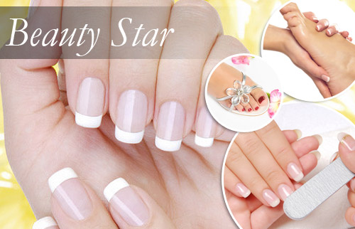 Beauty Star Nagelstudio Manik�re und Pedik�re inkl. Verw�hnprogramm