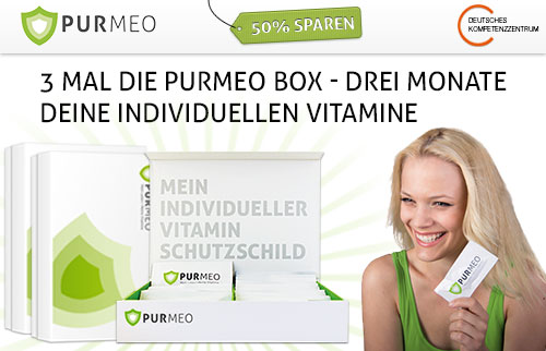 Purmeo Vitamin-Box und Health Coach