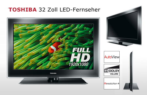 TOSHIBA 32 Zoll LED-TV