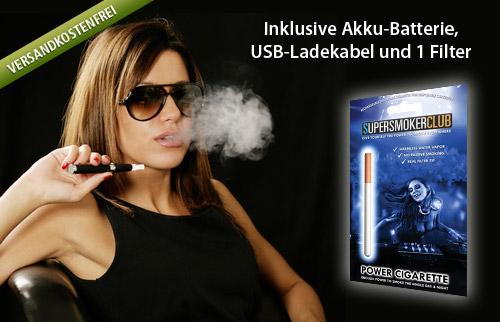 Supersmoker e-Zigarette von SVB für 24,95 Euro statt 59,95 Euro
