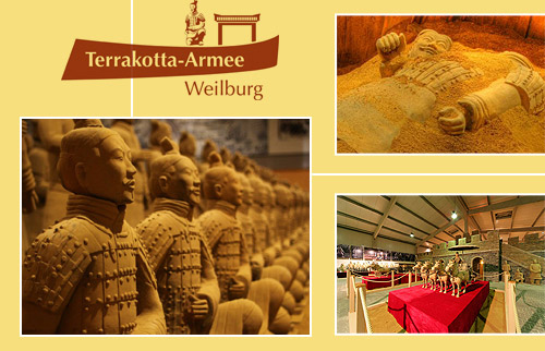 Eintritt für 2 Personen zur Terrakotta-Armee Ausstellung in Weilburg für 7,50 statt 15 Euro