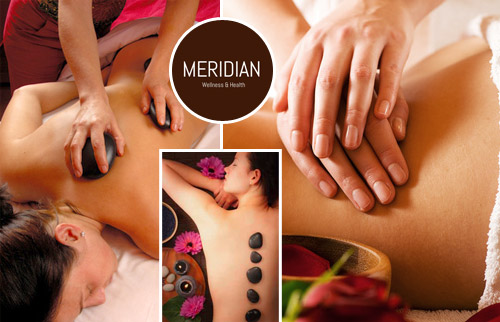 Wellness und Health Meridian Hot Stone Massage