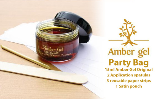 Fed up of shaving or want an alternative to waxing? Stay smooth this summer with an essential Amber Gel satin travel kit for just �7.50